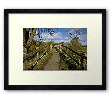 Footbridge to the Dales Framed Print