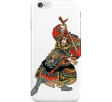 Samurai Draws His Sword iPhone Case/Skin