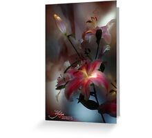 Lily, Flashlight and Bulb Greeting Card