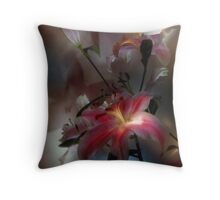 Lily, Flashlight and Bulb Throw Pillow