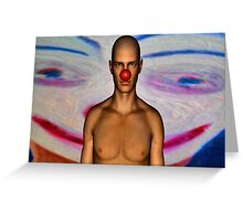 CLOWN Greeting Card