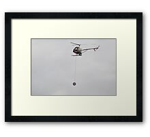 Yoyo Helicopter,Avalon Airshow,Australia 2015 Framed Print
