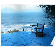 Seat in the Snow Poster