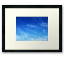 Wispy 2 Framed Print