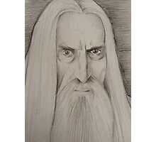 Saruman CHRISTOPHER LEE  Photographic Print