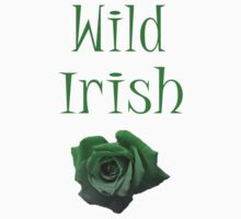Wild Irish Rose T-Shirt by simpsonvisuals