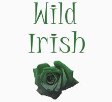Wild Irish Rose T-Shirt by simpsonvisuals