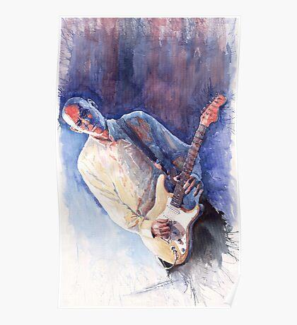 Jazz Guitarist Rene Trossman Poster