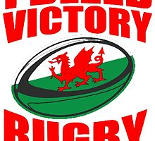 Wales Rugby Union World Cup 2015 - Tshirts, Stickers, Mugs, Bags by zandosfactry