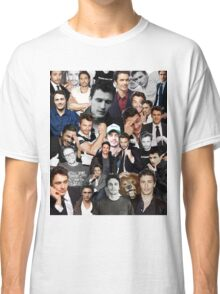 James Franco Collage Classic T-Shirt