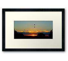Rozella's At Sunset Framed Print
