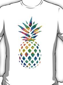 Rainbow Pineapple T-Shirt