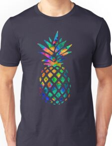 Rainbow Pineapple Unisex T-Shirt