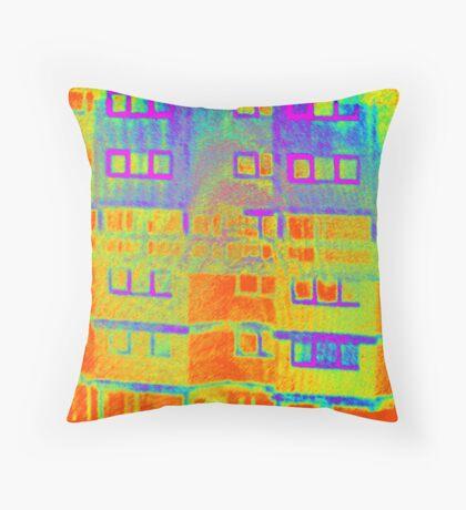 Ashfield Valley Facade Throw Pillow