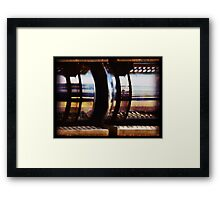 tanked Framed Print