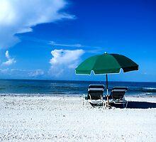 beach scene by cahphotography