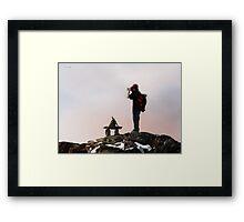 Summit Framed Print