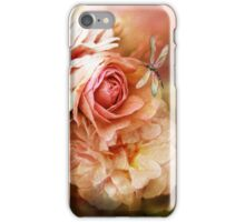 Miracle Of A Rose - Peach iPhone Case/Skin