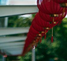 red lanterns by dennis william gaylor