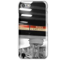 Boston: Red Line iPhone Case/Skin