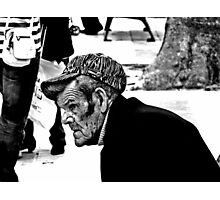 Watching the world go by ....Spain Photographic Print