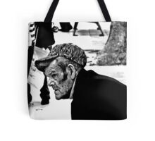 Watching the world go by ....Spain Tote Bag