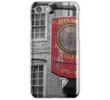 Boston: Green Dragon Tavern iPhone Case/Skin