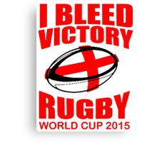 England Rugby Union World Cup 2015 - Tshirts, Stickers, Mugs, Bags Canvas Print