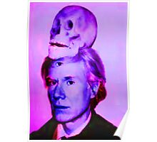 Mortality of Andy Warhol Poster
