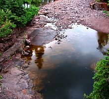 Two Harbors, MN: Gooseberry Reflections by ACImaging