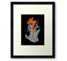 Fall effect Framed Print