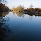 River Ribble, Lancashire, England by Brett Still