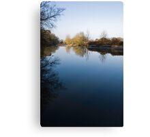 River Ribble, Lancashire, England Canvas Print