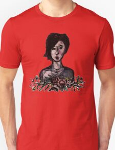 Red Girl Unisex T-Shirt