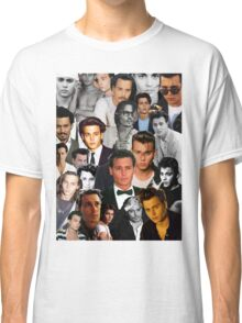 Johnny Depp Collage Classic T-Shirt
