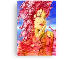 Tears of Blood Canvas Print