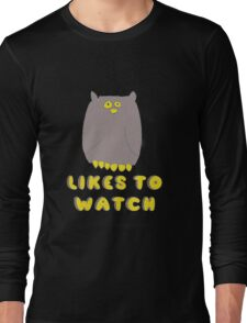 Likes To Watch Long Sleeve T-Shirt