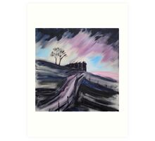 'Top Withens - Wuthering Heights' Art Print