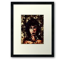 Dark Lady Framed Print