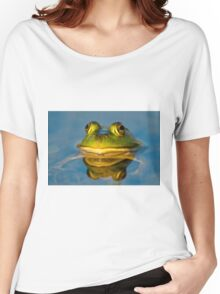 Pond Frog Women's Relaxed Fit T-Shirt