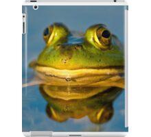 Pond Frog iPad Case/Skin