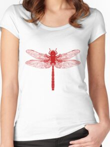 Red Dragonfly Women's Fitted Scoop T-Shirt