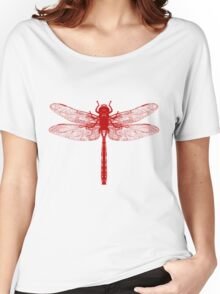 Red Dragonfly Women's Relaxed Fit T-Shirt