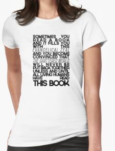 The Fault In Our Stars Quote Womens Fitted T-Shirt
