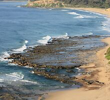 Sweeping Shoreline by reflector