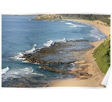 Sweeping Shoreline Poster