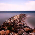 The Stone Pier........ by Imi Koetz