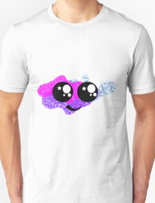 Kawaii Face Colourful Unisex T-Shirt