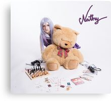 ~: Shiro cosplay by Nathy :~ Canvas Print