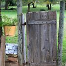 Country Garden Gate by Charles Buchanan